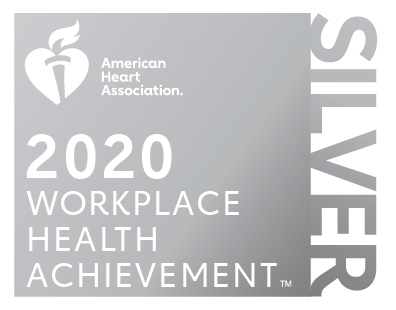 2020 Workplace Health Achievement Index Silver Recognition