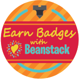 Earn Beanstack badges button