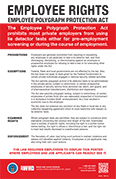 Employee Polygraph Protection Act (EPPA) Poster