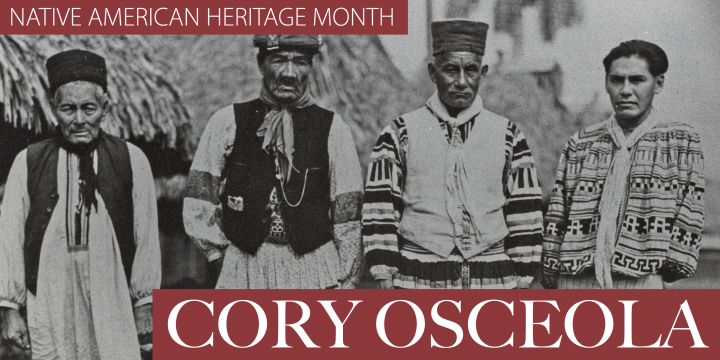 Native American Heritage Month: Cory Osceola