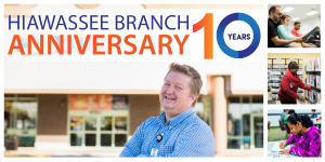 Hiawassee Branch 10th Anniversary