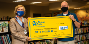 Window World of Central Florida Donates $50,000 to Support OCLS Summer Reading Program