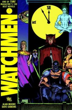 Watchmen by Alan Moore, Dave Gibbons, and John Higgins