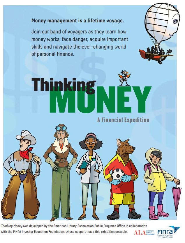 Thinking Money Poster